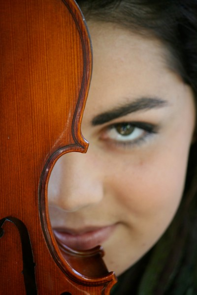 A Girl and Her Violin
