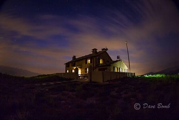Una notte al rifugio by Dave_Bomb - The Moving Clouds Photo Contest