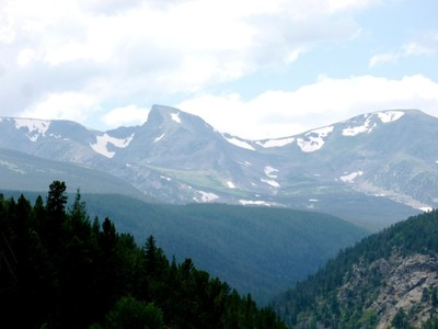 The Snow Caps of the Little Rockies
