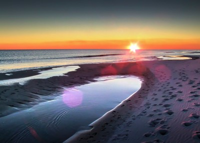 Sunset On A Pensacola Beach