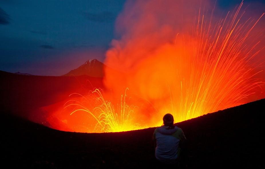 Tolbachik volcano. Kamchatka
