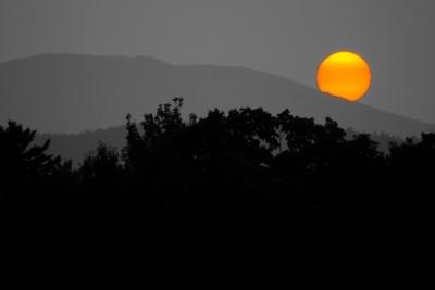 Sunset at Moosehead Lake, 2015 Edit