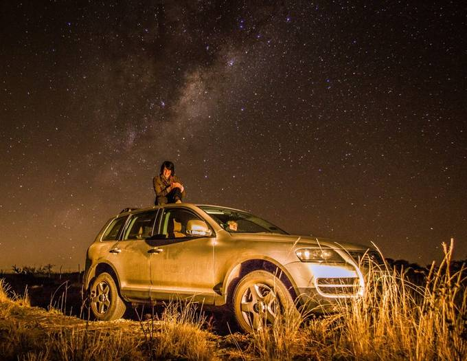 Chasing stars by kobusodendaal - Adventure Bound Photo Contest