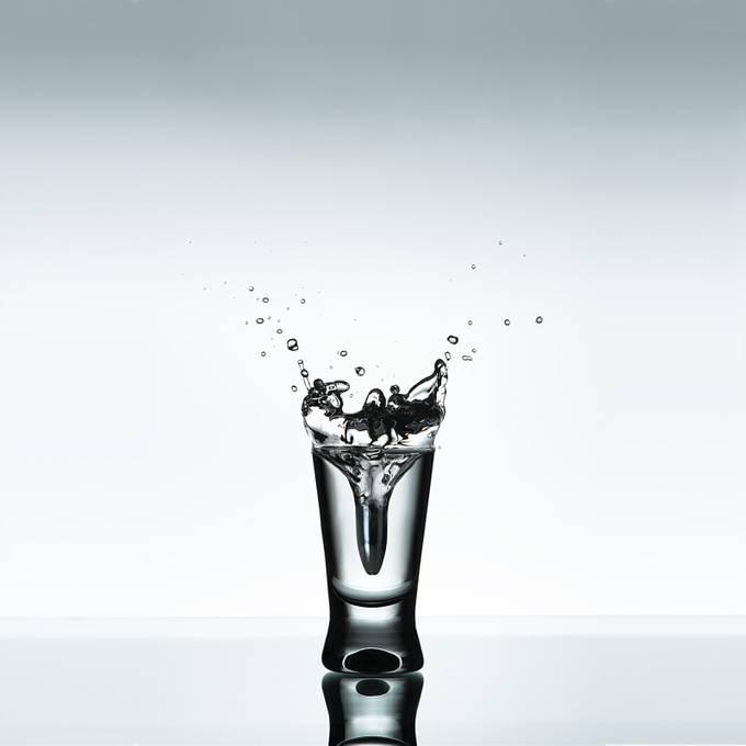 Vodka Shot by WitoldBacia