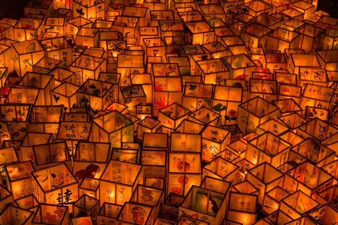 Lanterns by AlexScandellari - The Magic Of Japan Photo Contest