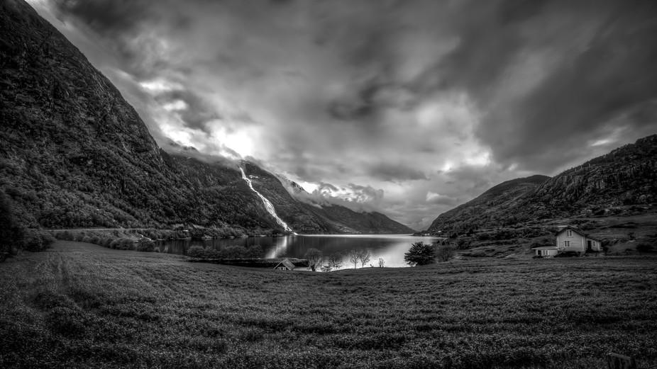 Aakrafjord in Norway