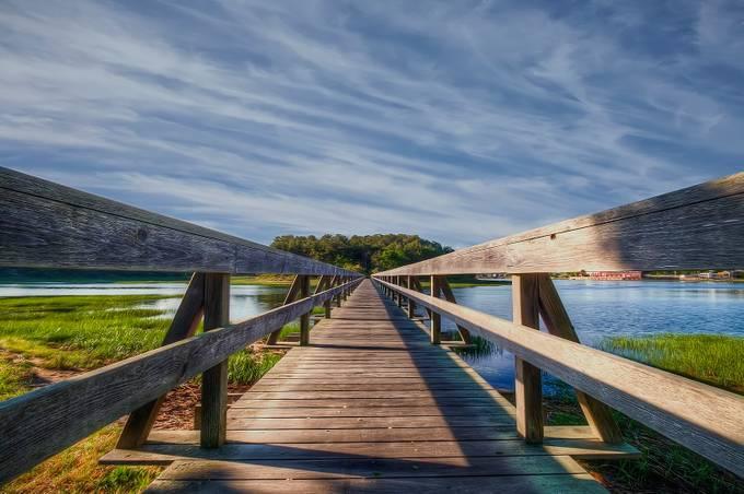 WellFleet Bridge 2 by David-B - Boardwalks Photo Contest