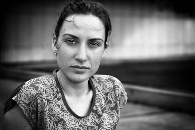 M. by gkojadinovic - Black And White Female Portraits Photo Contest