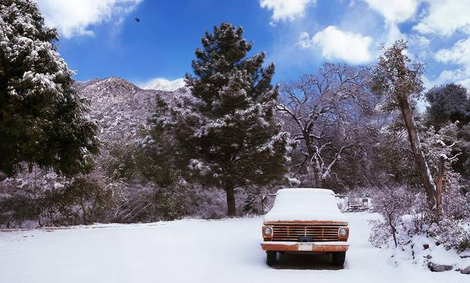 Cristmas Bearpaw by aaronhenderson - A Road Trip Photo Contest