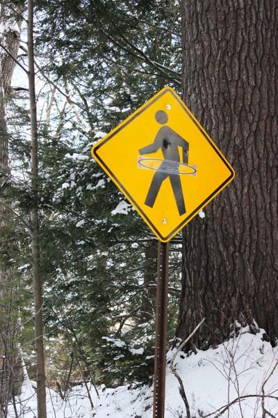 Caution: Hula Hoopers