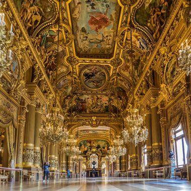 Opera Garnier ballroom