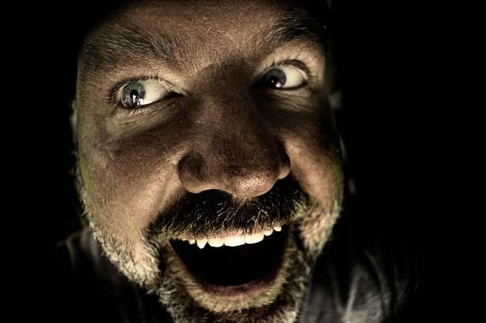 key hole by joebaxter - Dark Portraits Photo Contest