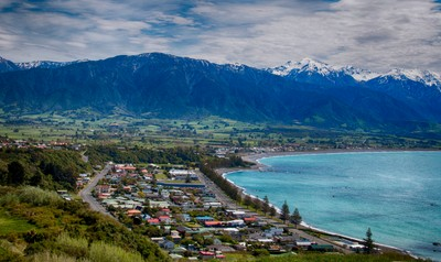 Kaikoura Township by Theo-Herbots-Fotograaf