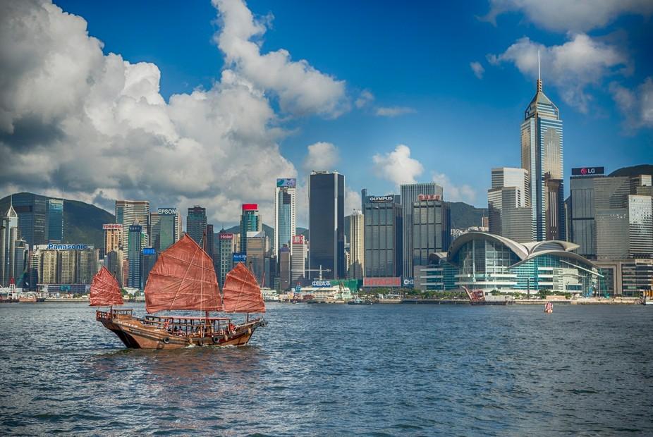 Hong Kong City Scape.