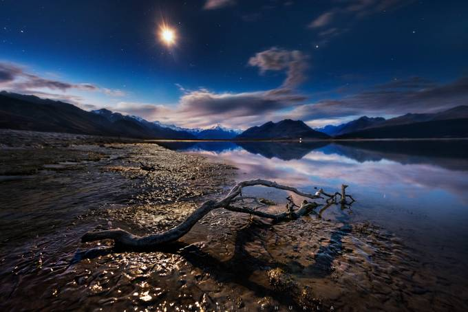 Half Dry Lake by Nishant-101 - Night Wonders Photo Contest