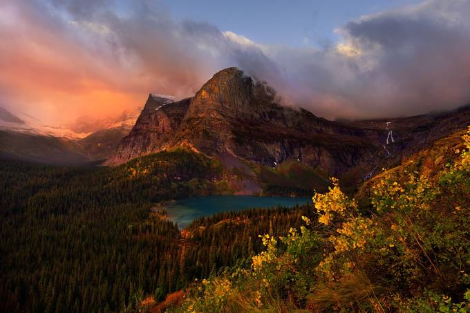 Grinnel Lake in Fall by hillaryyounger - The Beauty Of Nature Photo Contest