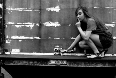 Girl photograph