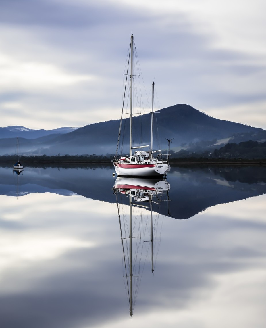 Huon River by AshThomson - Ships And Boats Photo Contest