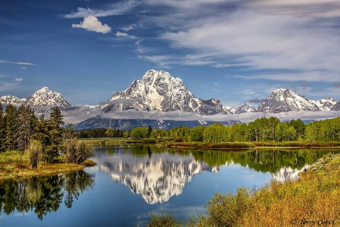 An Oxbow Bend Morning by terryc - Spectacular Lakes Photo Contest