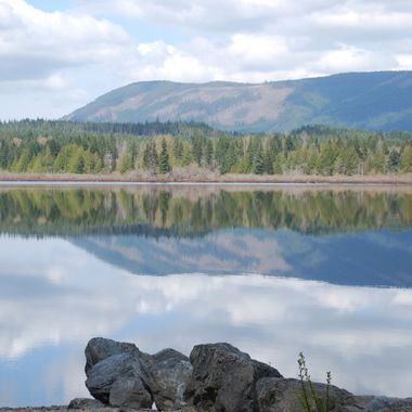 Lake in Northern British Columbia