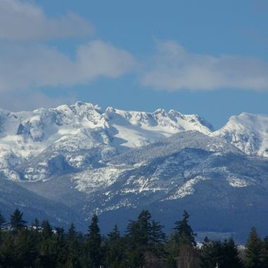 MOUNT ARROWSMITH from Parksville Park