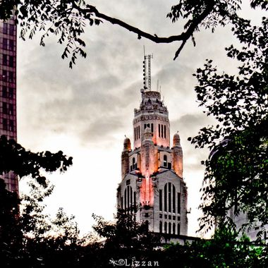 LeVeque Tower at Twilight