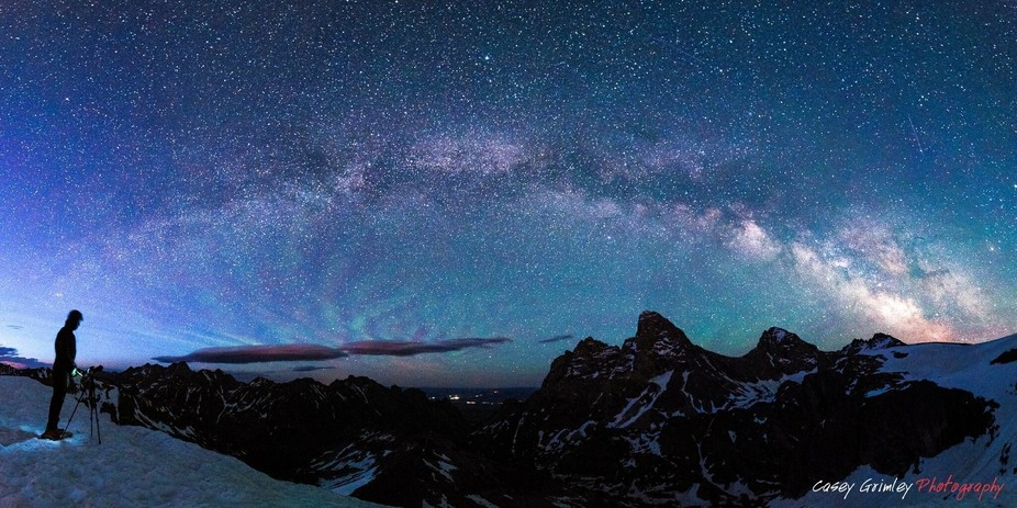 Grand Teton Milky Way  The Tetons are some of the most iconic mountains in the world. When I star...