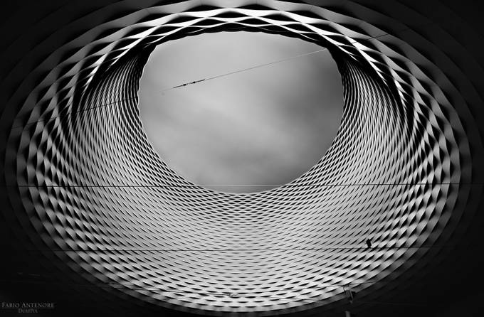 Structure by dustpixxByFabioAntenore - Depth In Black And White Photo Contest