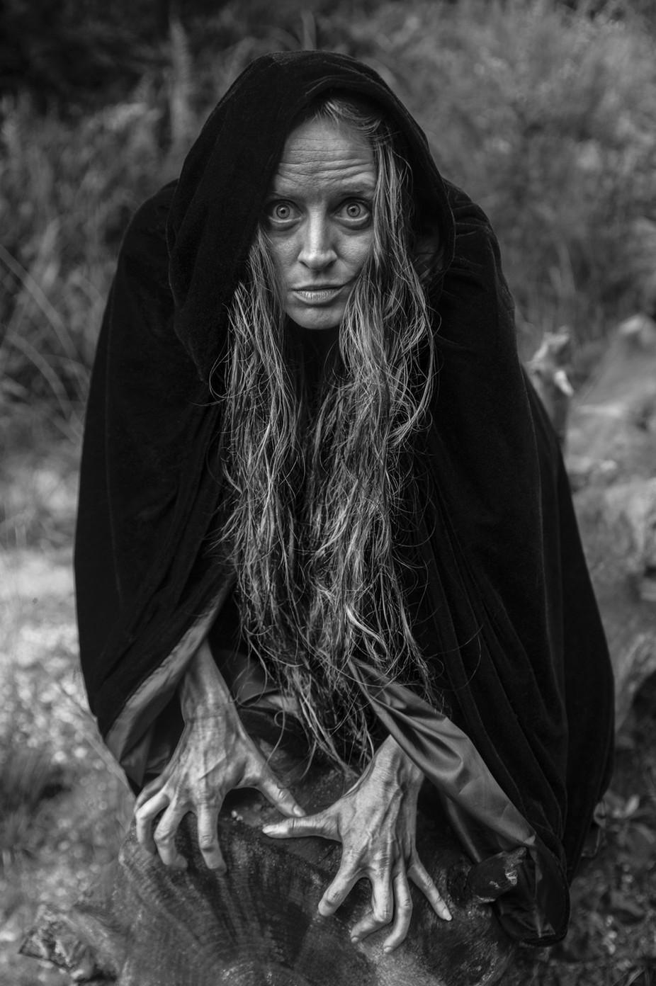 The Crone by GlenMorgan - Dark Portraits Photo Contest