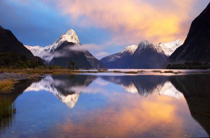 Milford Sound Mystic Mornings by CoreyAnthonyPhotography - Rugged Landscapes Photo Contest