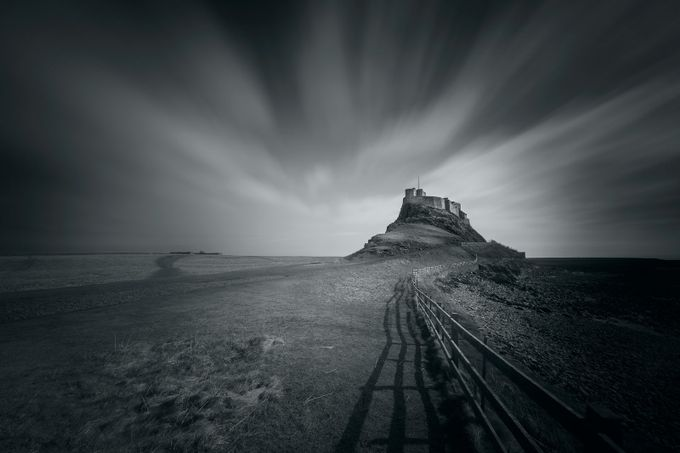 Lindisfarne Castle by DrawsWithLight - Pushing Limits Photo Contest