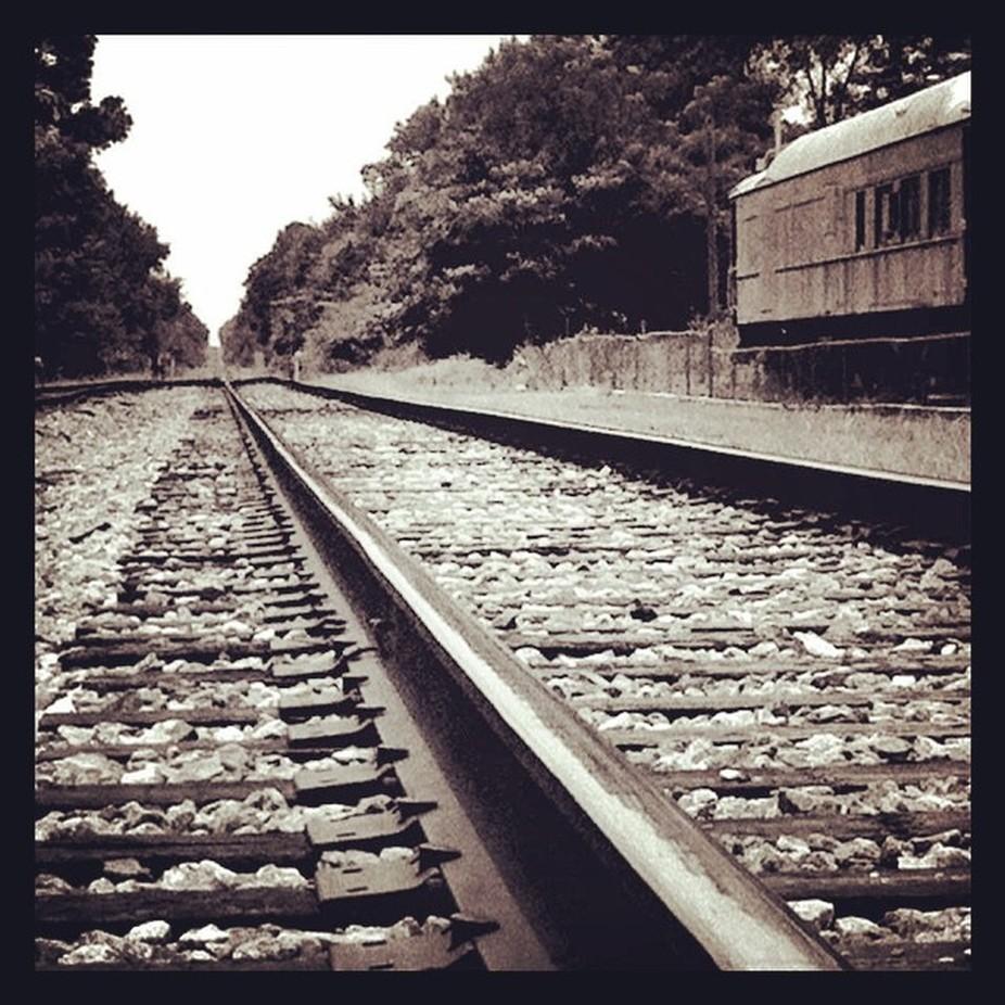 Somewhere In Georgia Georgia Train Traintrack