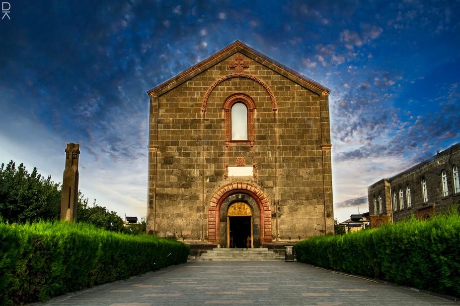 A Church in Armenia, Oshakan