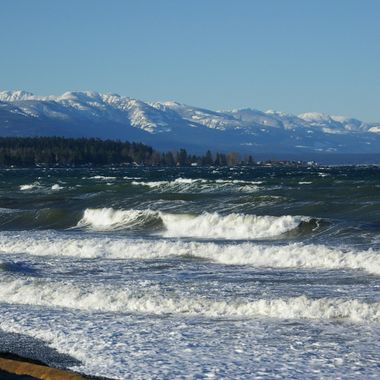 End of Dec in Qualicum Beach in the Winter