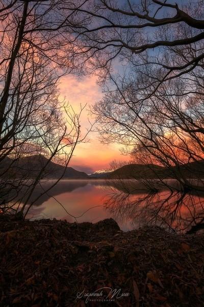 Sunrise at Lake Hayes