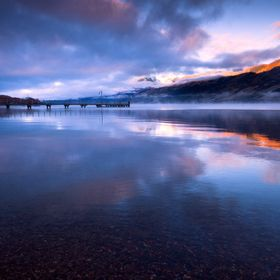 This image was taken in Glenorchy, New Zealand about 30mins after sunrise on a very cold winters morning