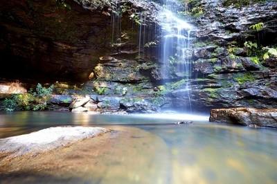 Dantes Glen Water Falls