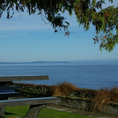 BLUE Qualicum Beach view Oct 2006