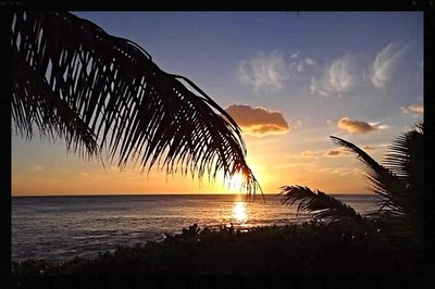 Sunset at Paradise Cove, Oahu copy