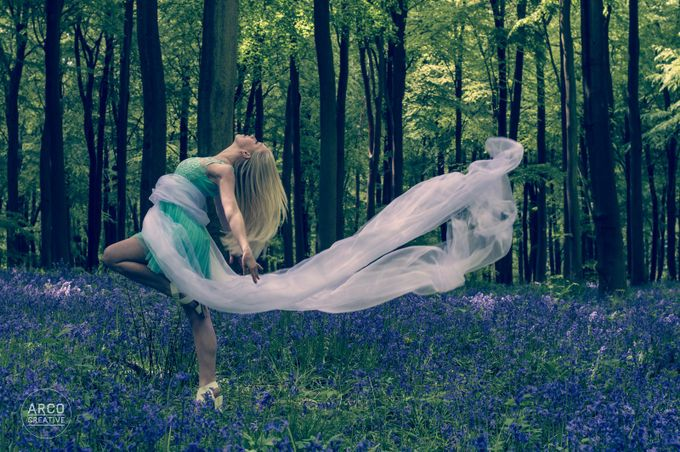 Bluebell Woods - Emily by arcocreative - Life And Freedom Photo Contest