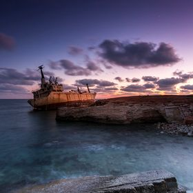 «Ghost Ship«  The Edro III Shipwreck | Peyia | Cyprus    Last week i visited Cyprus the first time! I was able to capture this shipwreck! The E...