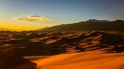 Great Sand Dunes Sunset 1