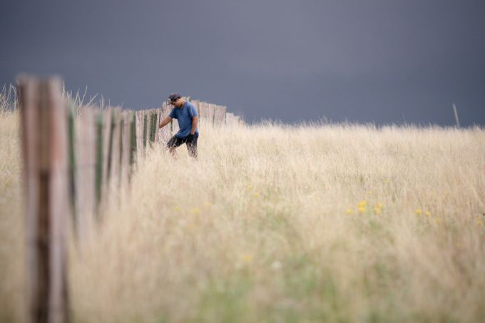 Fence line by skyelightphotography - Lost In The Field Photo Contest