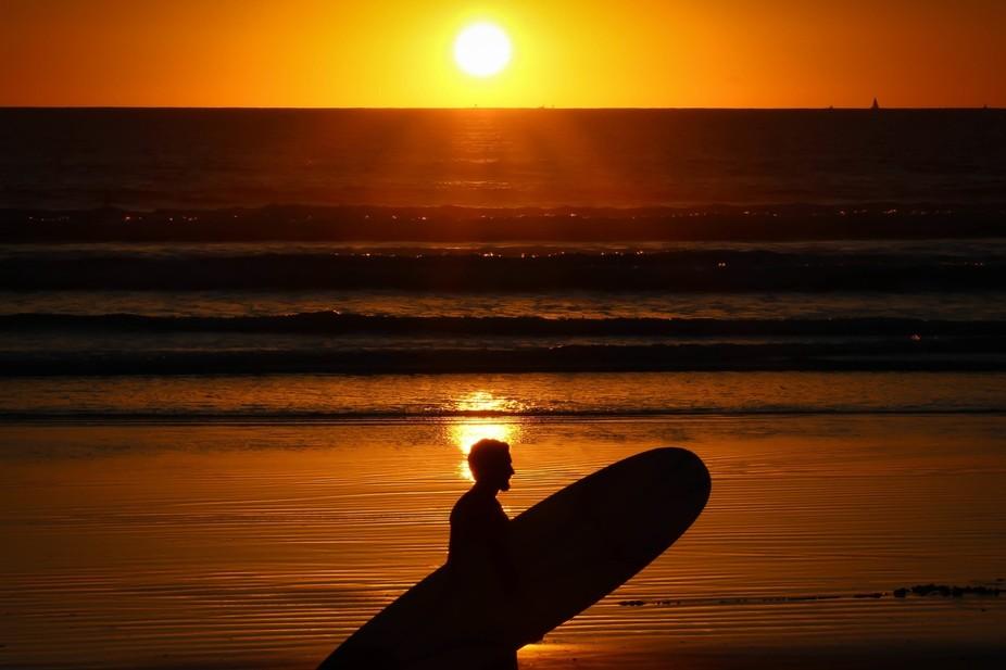 Taken at sunset on Coronado Island in San Diego