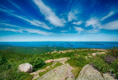 Overlook Cadillac Mountain