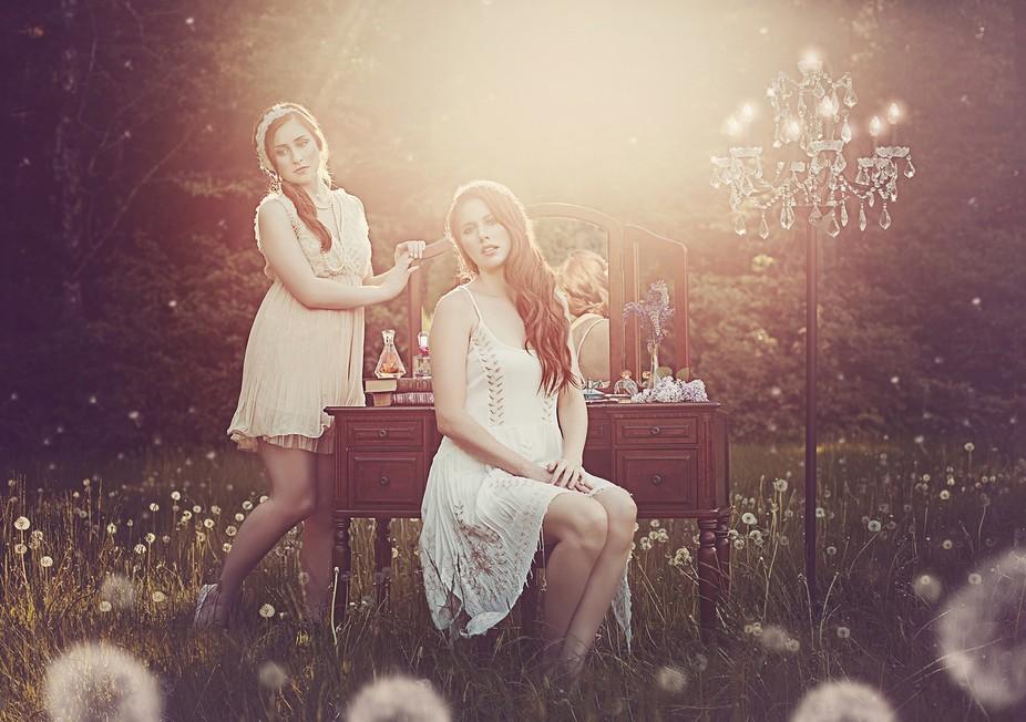 Makeup & Hair: Holly Roberts Models: Holly Roberts & Chloe McCarron