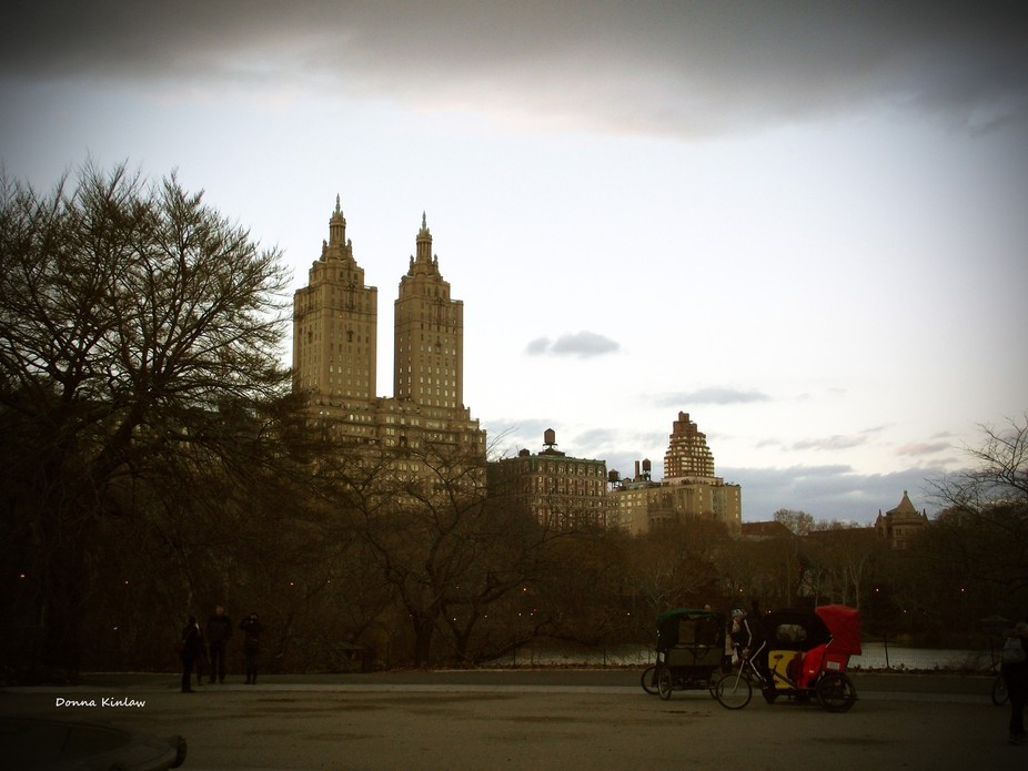 I took this picture while visiting New York City Central Park.  The sun was starting to set and l...