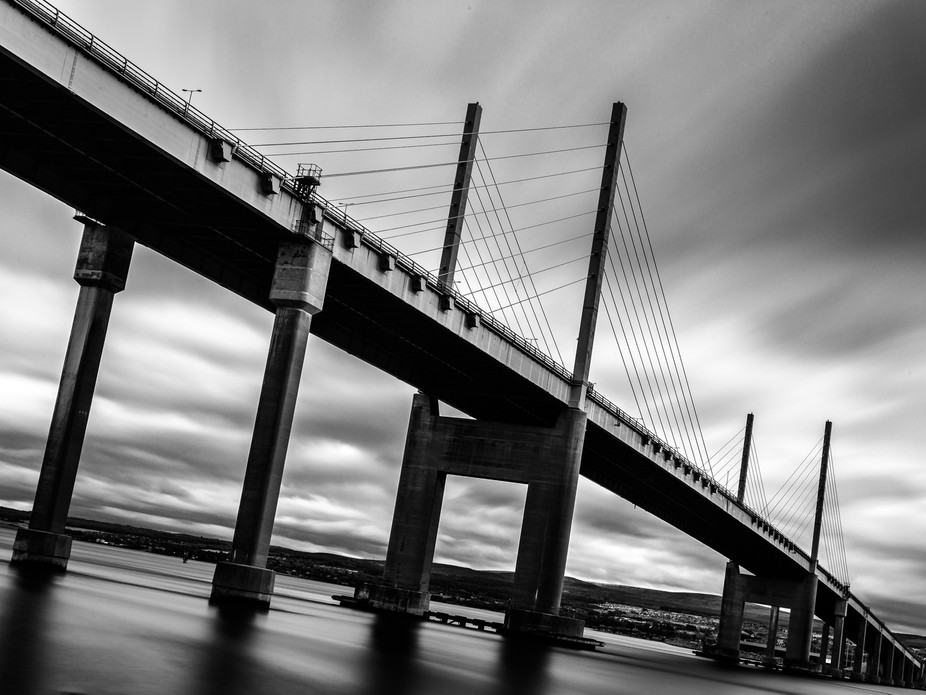 Kessock bridge Inverness, first attempt at a long exposure on architecture, something Id really l...