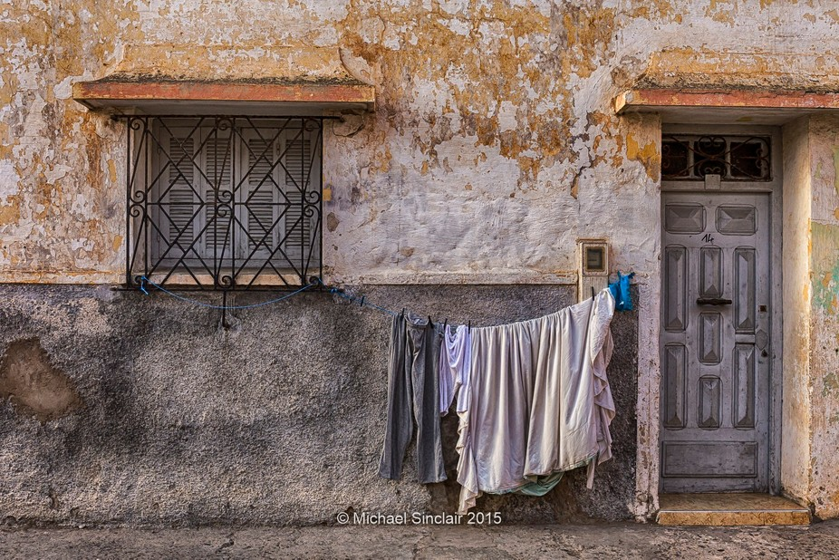 Wandering through the Medina area of El Jadida to find this wonderful composition. Beautiful cont...