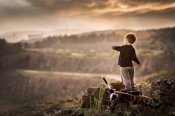 the edge of the world by Iwona - Standing At The Edge Photo Contest